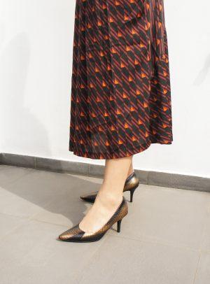 S1710Classi Bronze Heels