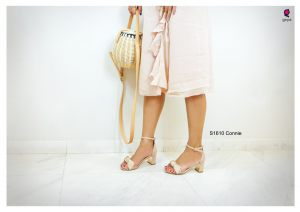 S1610Connie pink heels