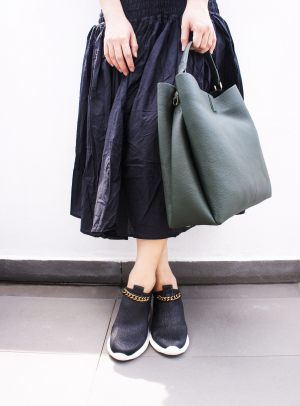 B1710Dave Green Handbag