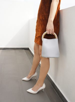 B1708Celine Grey Handbag