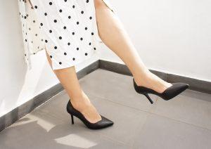 S1710Lulo Black Heels